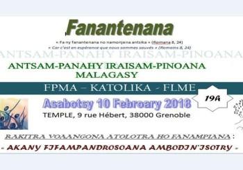 Concert Iraisam-pinoana Malagasy – Grenoble
